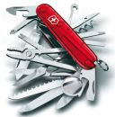 Swiss Army Swiss Champ Medium Pocket Knife Ruby Red