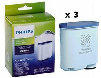 Philips Saeco AquaClean Filter Set of 3