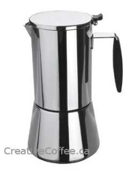 Lacor 4 Cups Keita StoveTop Stove Top Espresso Maker
