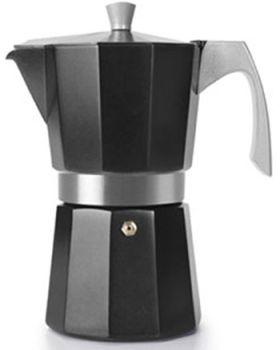Ibili 12 Cups - 775ml Evva Black Espresso Maker