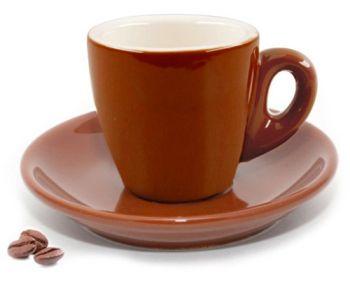 Cuisinox Brown Espresso Cups - Set of 6
