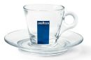 Lavazza Glass Cappuccino Cups - Set of 6
