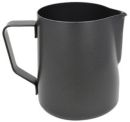 Rhinowares 600ml Black Teflon Stealth Milk Jug