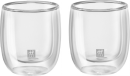 Zwilling JA Henkels Sorrento 3 oz ESPRESSO Double Wall Glass Cups Set of 2