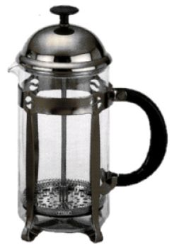 8 Cup PYREX Chrome French Coffee/Tea Press HOT DEAL