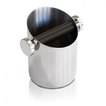 Rocket Stainless Steel Round Knockbox
