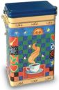 "Decorative ""CAFE"" Storage Tin Can 500 grams"