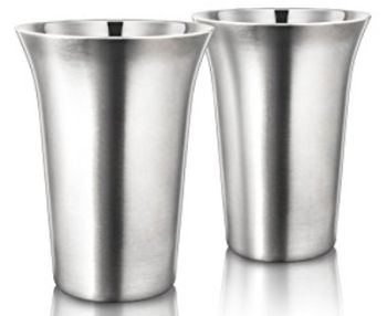 FinalTouch 12oz Double Wall Coffee Cups - Set of 2