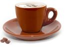 Cuisinox Brown Cappuccino Cups - Set of 6