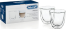 Delonghi Cappuccino Glass Set of 2