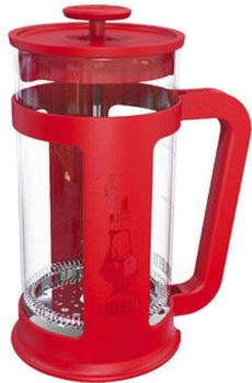 Bialetti 8 Cups - 1 Lts Red French Press