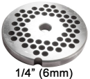 "Porkert Replacement 1/4"" (6mm) Grinder Plate"