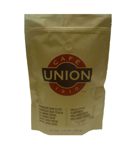 Cafe Union Columbian Coffee Beans 1 5 Lbs 680g