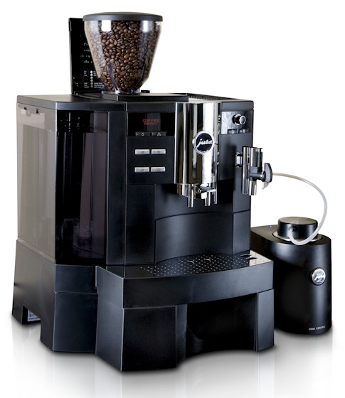 jura impressa xs90 one touch automatic machine creative coffee. Black Bedroom Furniture Sets. Home Design Ideas