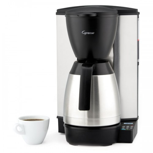 Capresso Mt600 Plus 10 Cup Drip Coffee Maker Hot Deal