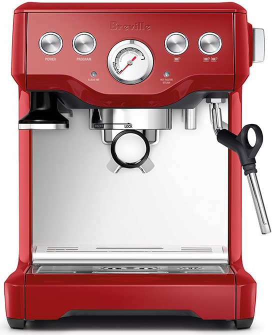 breville bes840xl rouge infuser machine a cafe creative coffee. Black Bedroom Furniture Sets. Home Design Ideas