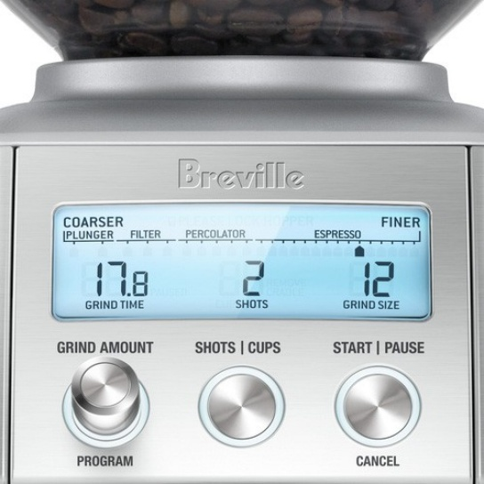 breville bcg820 smart grinder pro moulin a cafe creative. Black Bedroom Furniture Sets. Home Design Ideas