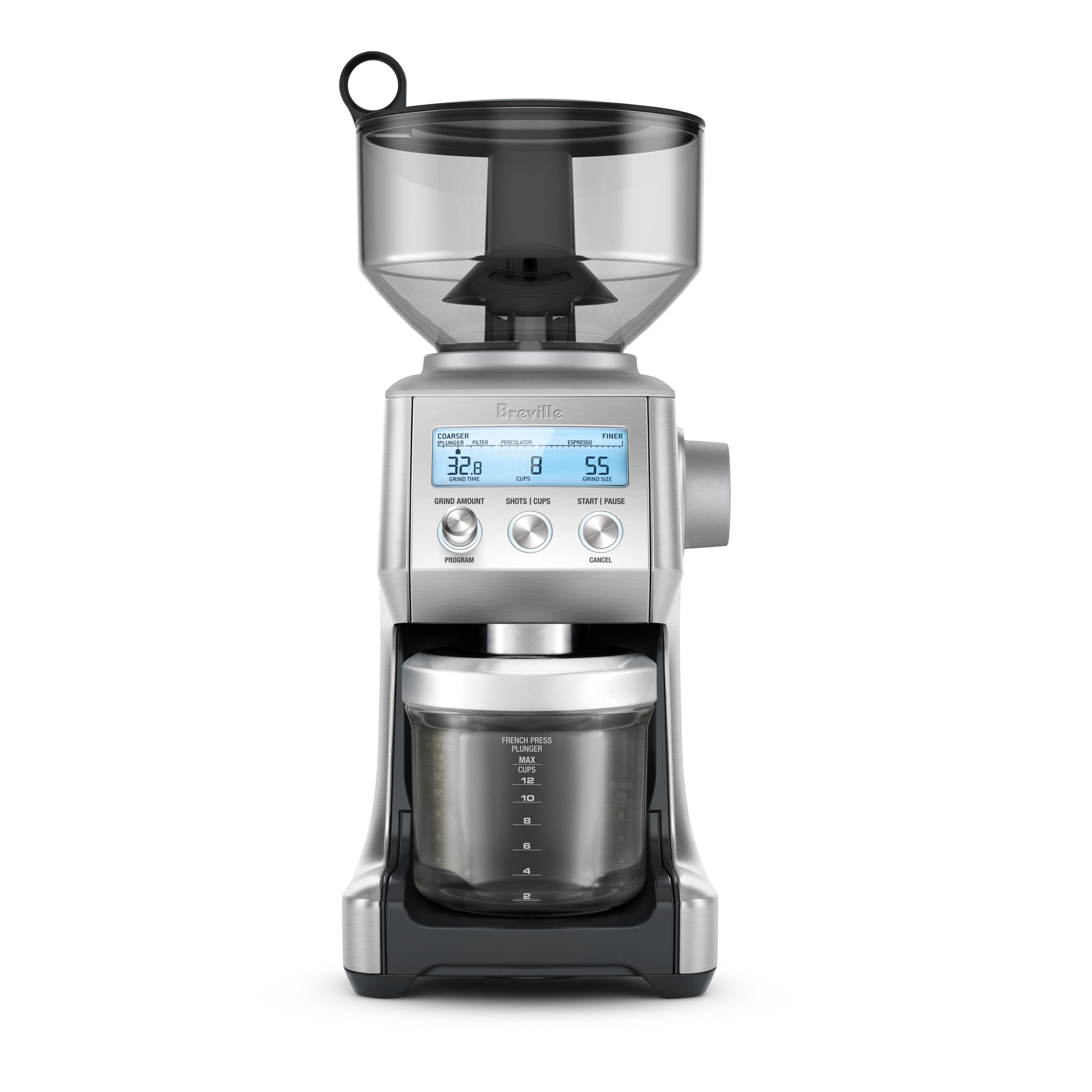 Breville Bcg820 Smart Grinder Pro Creative Coffee