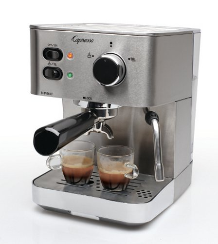 how to clean capresso espresso machine
