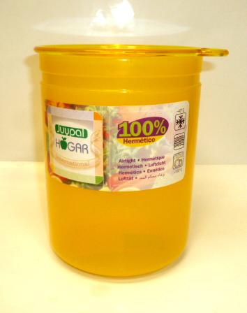 Juypal Solid Yellow 45oz Coffee Storage Jar