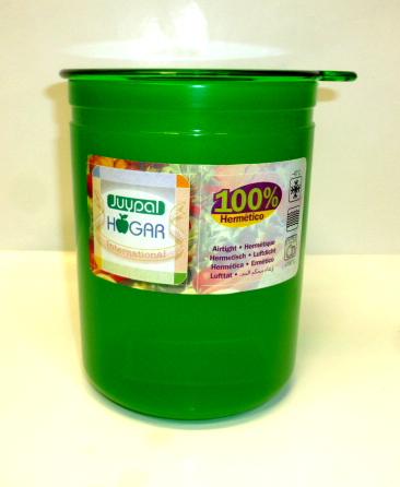 Juypal Solid Green 45oz Coffee Storage Jar