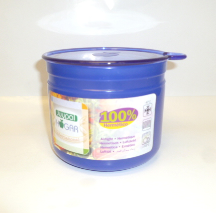 Juypal Solid Blue 35oz Coffee Storage Jar