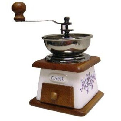 porcelain manual coffee grinder creative coffee. Black Bedroom Furniture Sets. Home Design Ideas