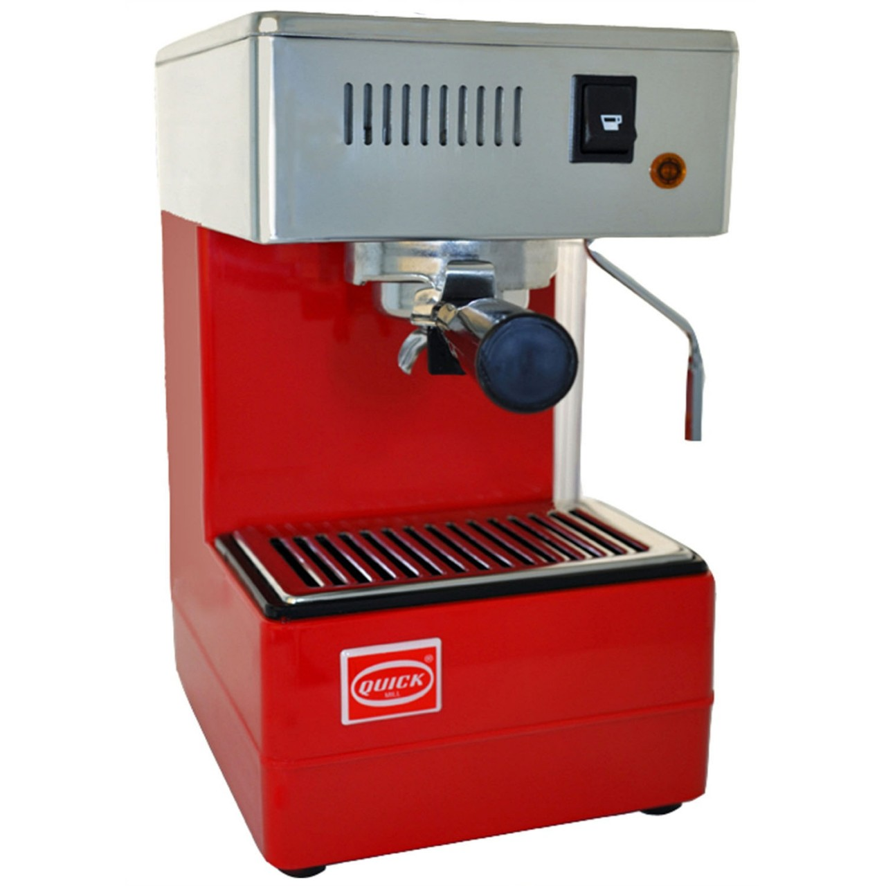 quick mill 820 red coffee machine creative coffee. Black Bedroom Furniture Sets. Home Design Ideas