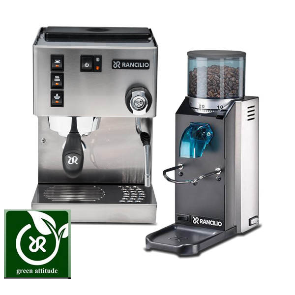 rancilio coffee machine and grinder