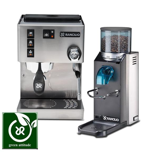 coffee grinder and espresso machine combo