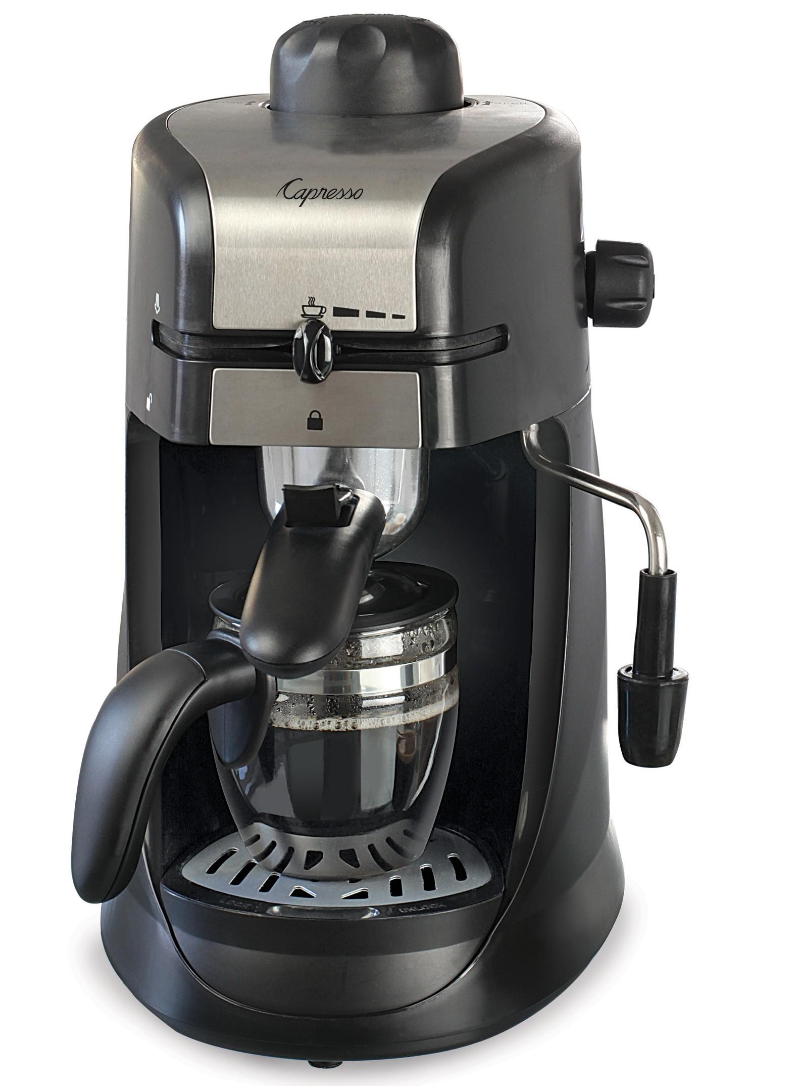 Capresso Steam Pro 4 Cup Coffee Machine | Creative Cookware