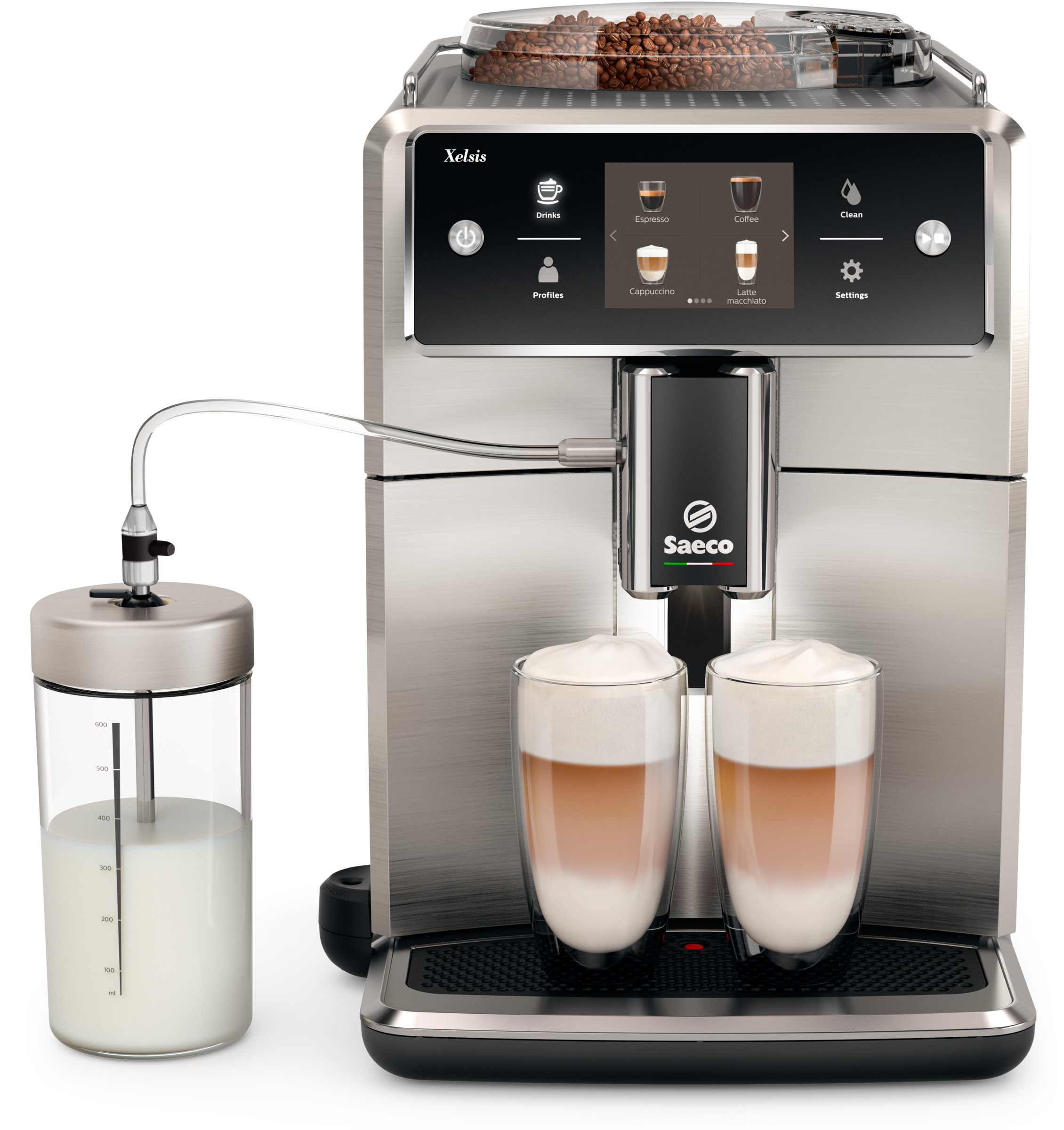 Philips Saeco SM7685/04 Xelsis Stainless Steel Coffee Machine