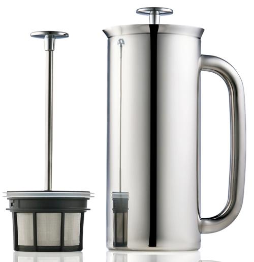 Espro p7 cafeti re piston brosse 18oz creative coffee - Fonctionnement cafetiere a piston ...