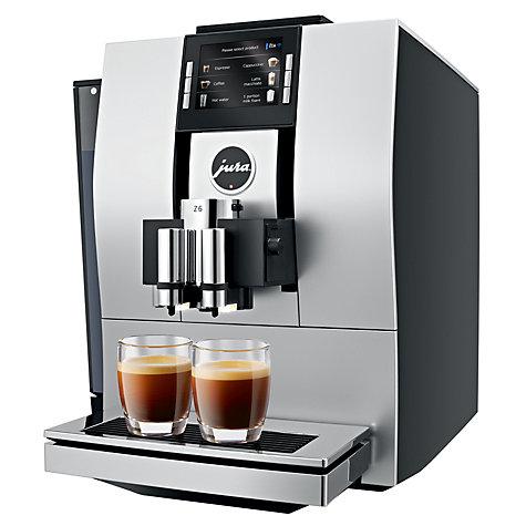 jura impressa z6 aluminium automatic machine creative coffee. Black Bedroom Furniture Sets. Home Design Ideas