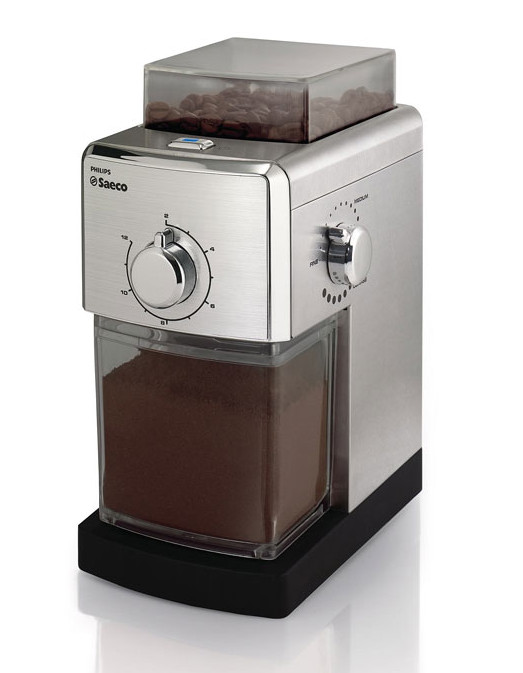 Philips Saeco Flat Burr Stainless Steel Coffee Grinder Creative Cookware