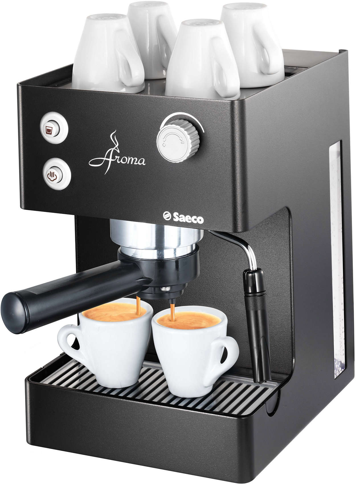 philips saeco aroma noir machine a caf creative coffee. Black Bedroom Furniture Sets. Home Design Ideas