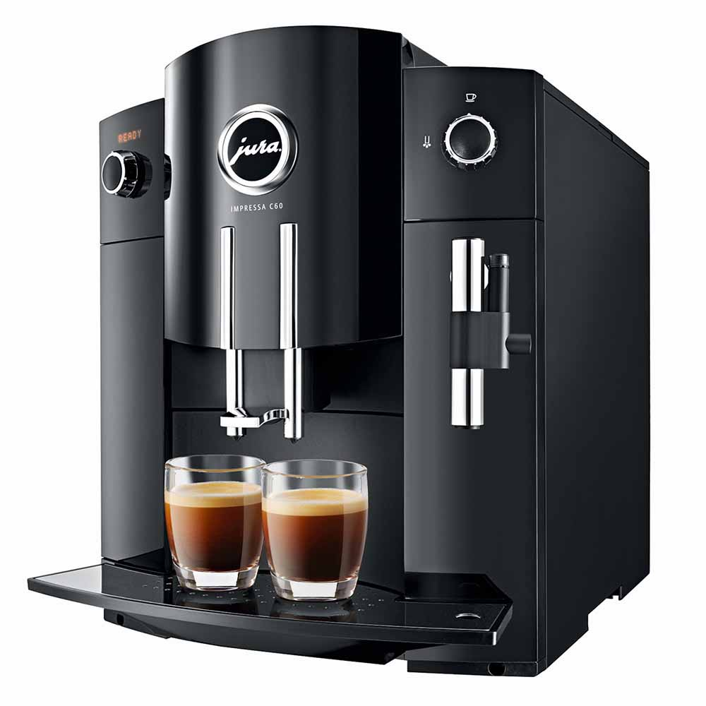 jura impressa c60 machine a caf automatic creative coffee. Black Bedroom Furniture Sets. Home Design Ideas